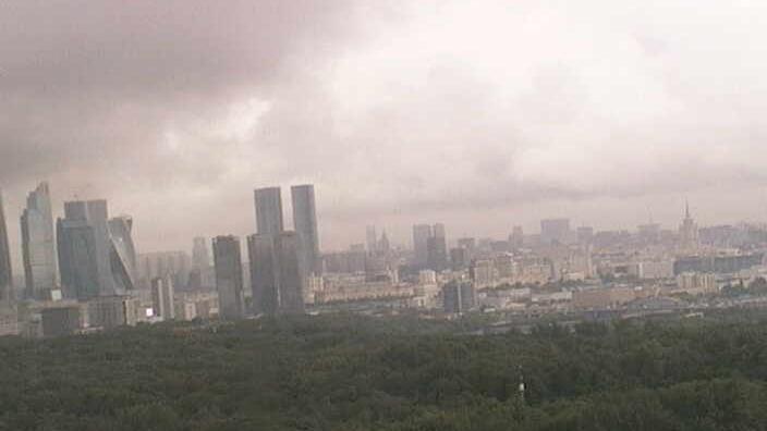 Webcam Воробьево: Вид на Москву со здания МГУ