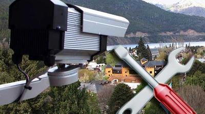 Current or last view from San Martín de los Andes: Calle principal de − Patagonia