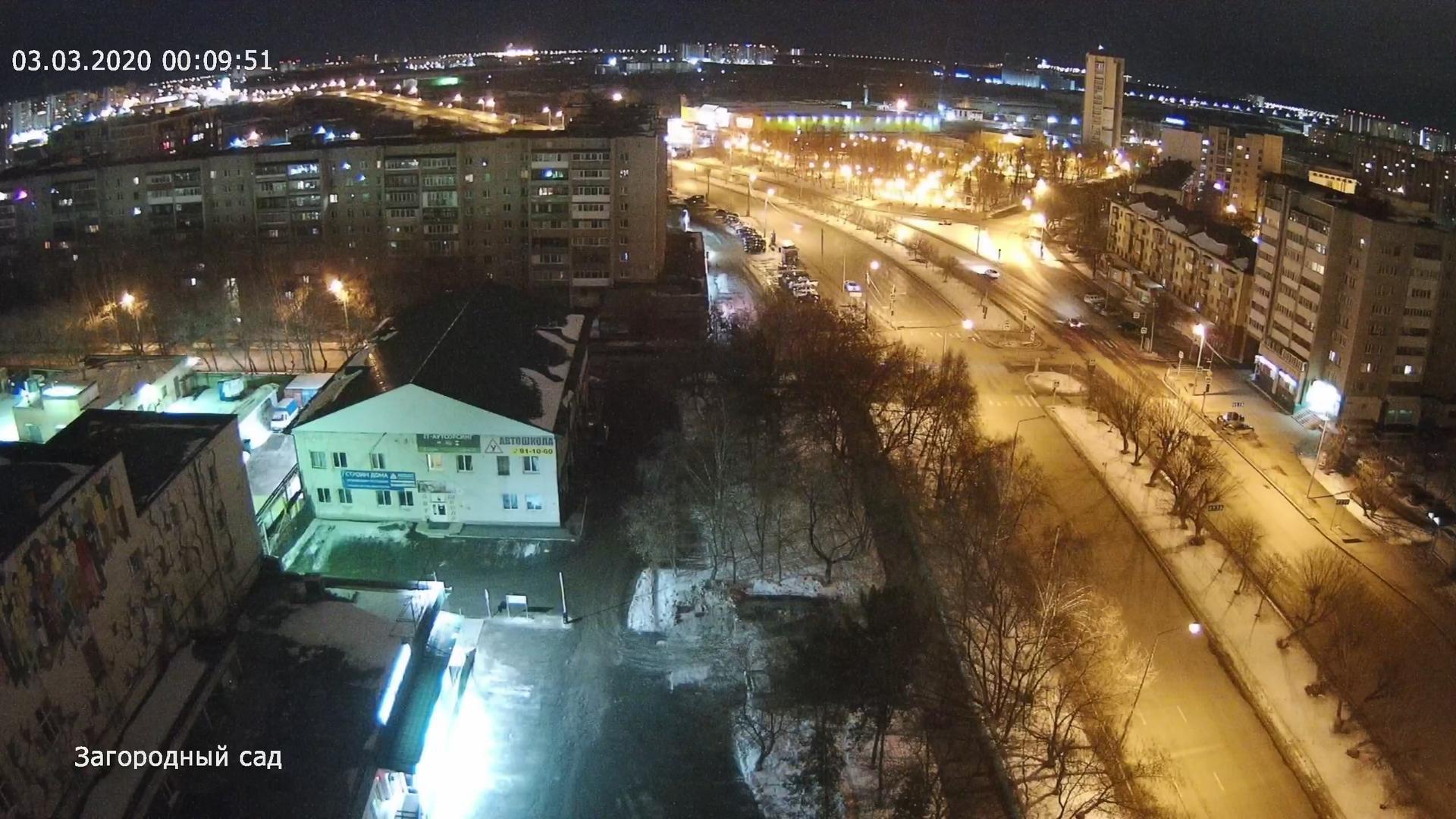 Webkamera Tyumen: Загородный сад