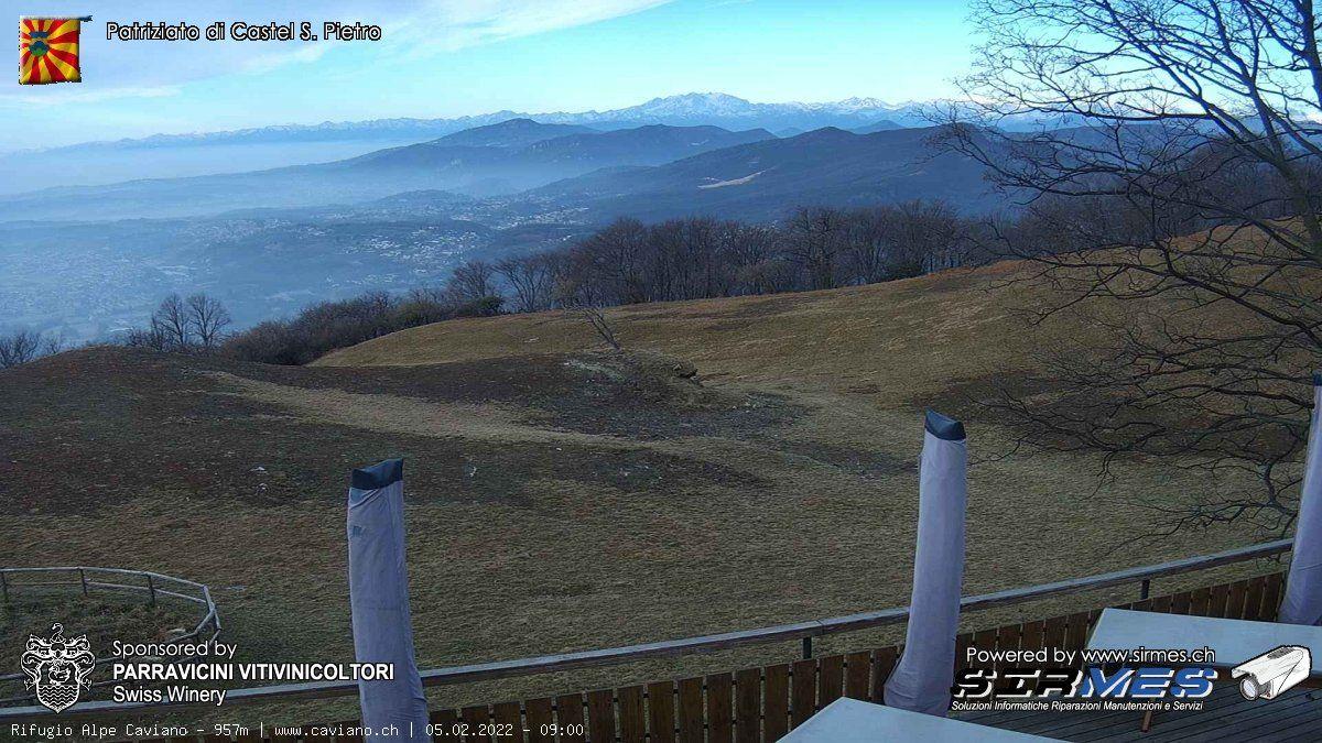 Salorino: Alpe Caviano - Castel San Pietro