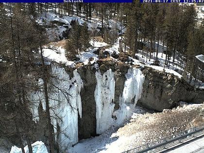 Pontresina: Engadin St. Moritz - Eiskletter-Schlucht