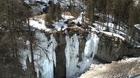 Pontresina: Engadin St. Moritz - Eiskletter-Schlucht - Dia
