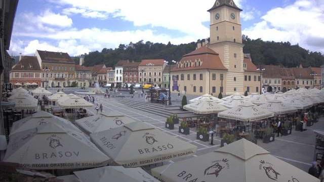 Webcam Braşov: Piața Sfatului