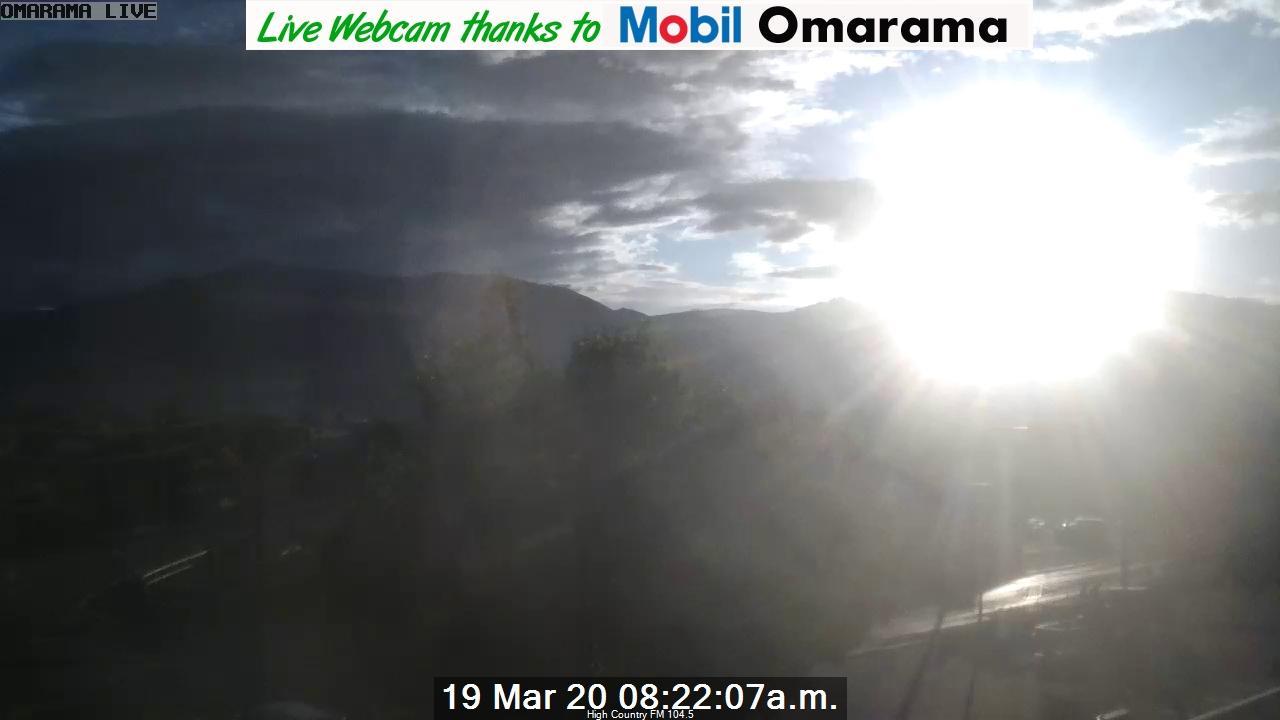 Webkamera Omarama › North-East: Village