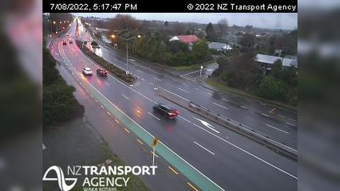 Webcam Belfast › North: SH1 Redwood North, Christchurch