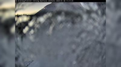 Daylight webcam view from Fossbakken: E6 Gratangsfjellet (Retning mot Bjerkvik. Plassert ved Lapphaugen)