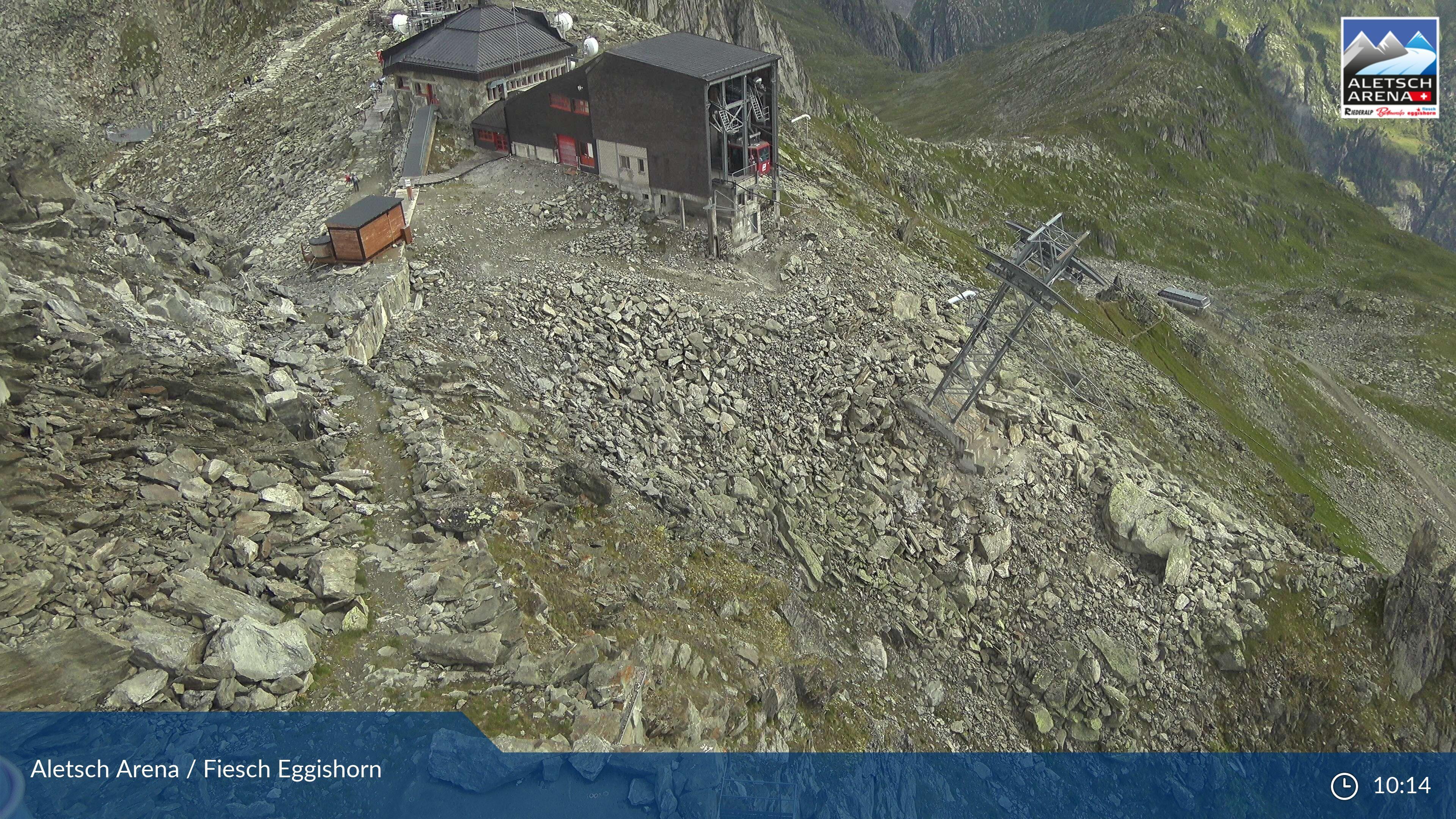 Fiesch: Aletsch Arena - Bergstation Eggishorn, Bergstation