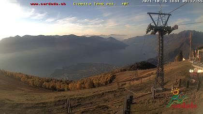Maniss › Süd: Cimetta di Cardada - Ticino