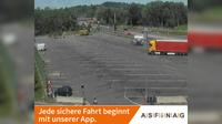 Stockach: A, bei Rastplatz H�rbranz, Blickrichtung LKW-Stellplatz - Km , - Day time