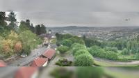 Linz: Pöstlingbergschlössl mit Blick über - Overdag
