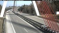 Wangen im Allgau: A Obere Argenbrücke Blickrichtung München - Tageszeit