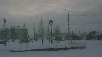 Webcam Tazovskiy: Центр поселка