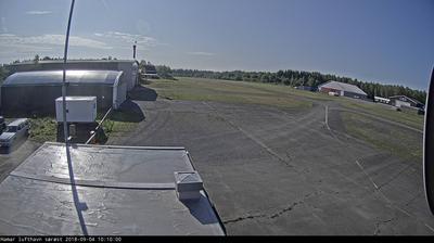 Webcam Stavsberg: Hamar flyplass sett mot syd (baneende)