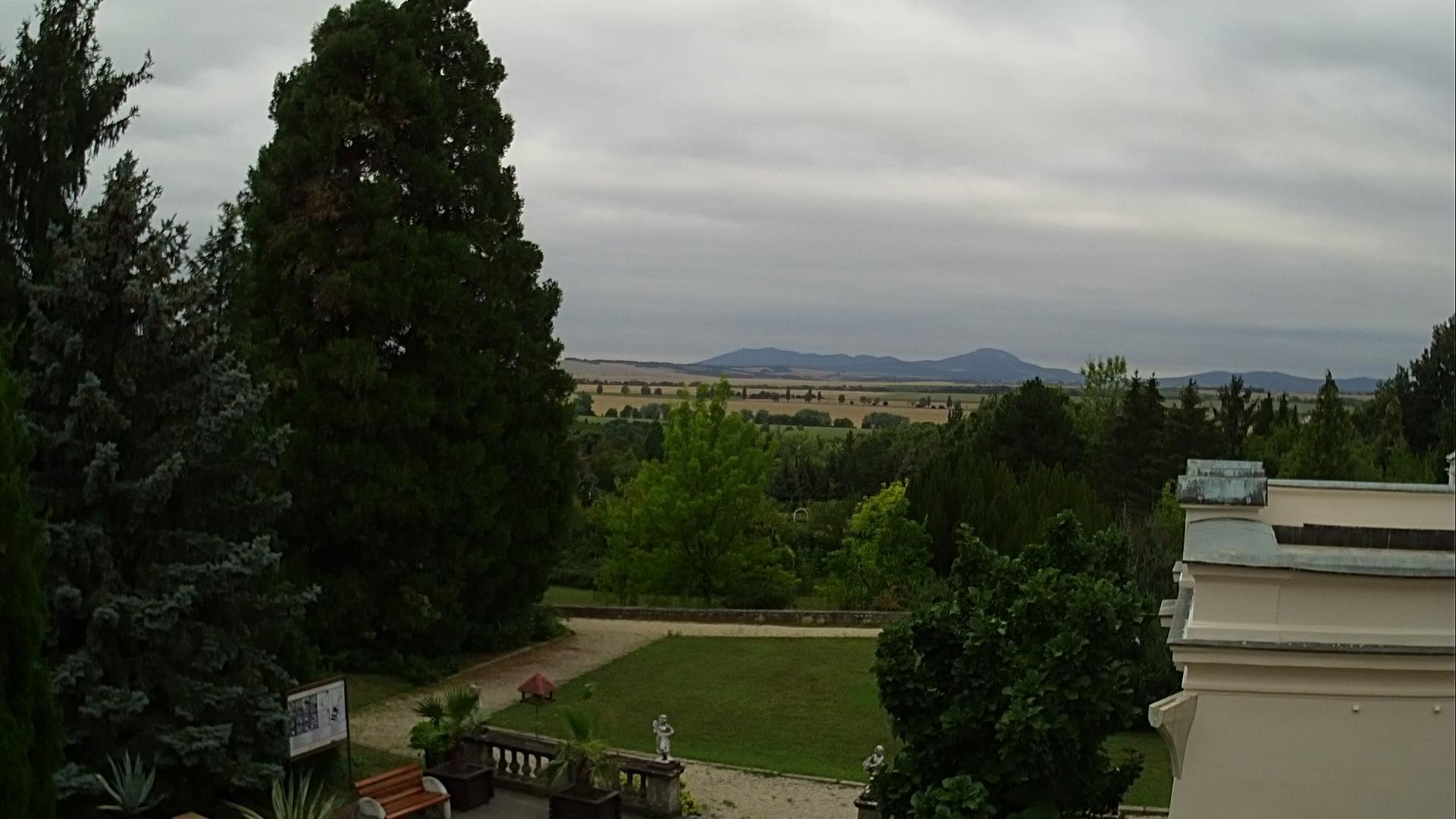 Webcam Vieska nad Žitavou: Arborétum Mlyňany