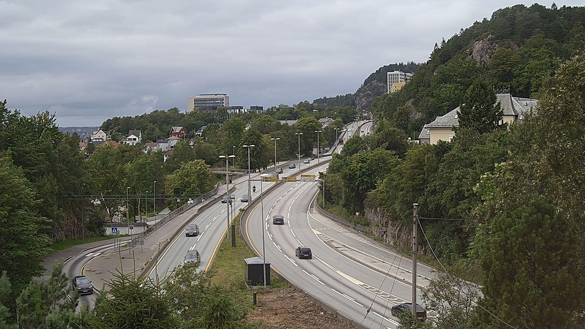 Webcam Sandviken: Bergen, Åsaneveien