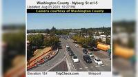 Tualatin: Washington County - Nyberg St at I- - Day time