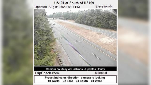 Webkamera Crescent City: US101 at South of US199