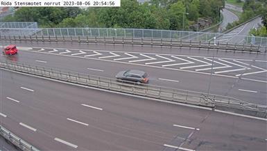 Webcam Färjenäs: Rödastensmotet norrut