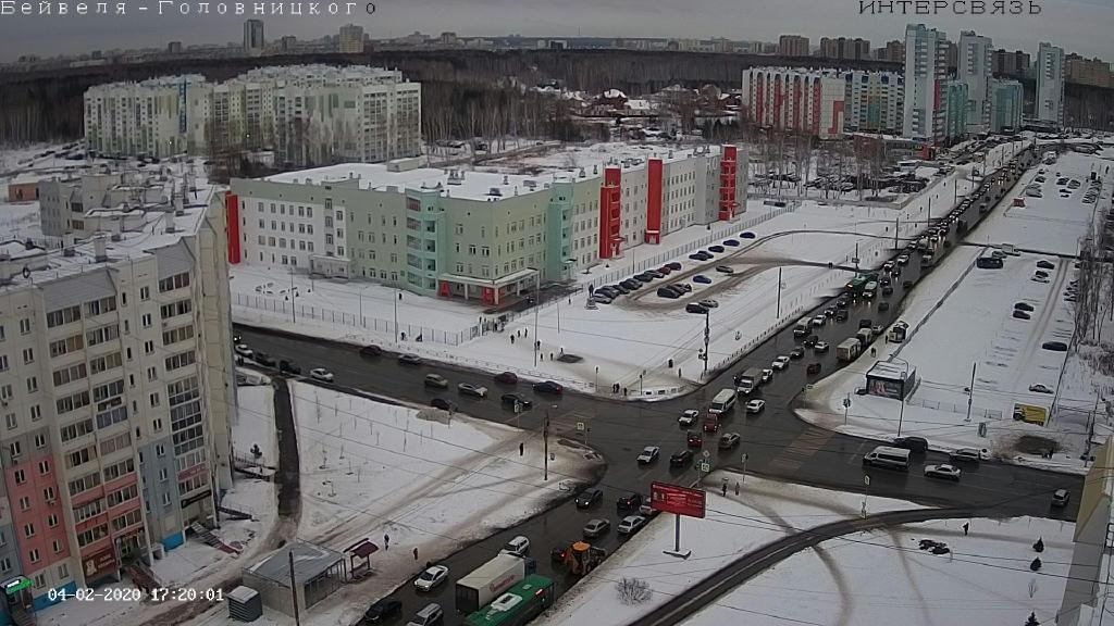 Webcam Chelyabinsk › South-East: ulitsa Skulptora Golovni
