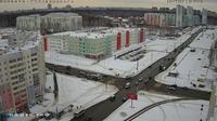 Chelyabinsk > South-East: Ulitsa Skul'ptora Golovnitskogo - Ulitsa Beyvelya - Prospekt Pobedy - Ulitsa Krasnoznamennaya - El día