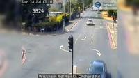 Croydon: Wickham Rd/Monks Orchard Rd - Overdag