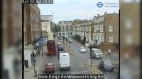 London: New Kings Rd/Wanworth Brg Rd - Overdag