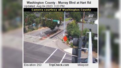 Vignette de Beaverton webcam à 5:09, mars 7