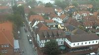Kirchdorf bei Sulingen › East: Sulingen - Blick vom Kirchturm über Sulingen in die Langestraße - El día