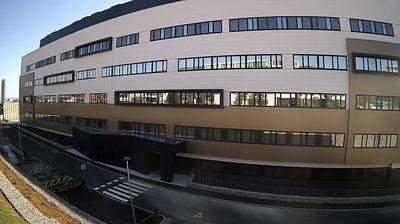 Rijeka: the construction site of a new hospital in Sušak