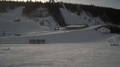 Daylight webcam view from Ounasvaara: Rovaniemi