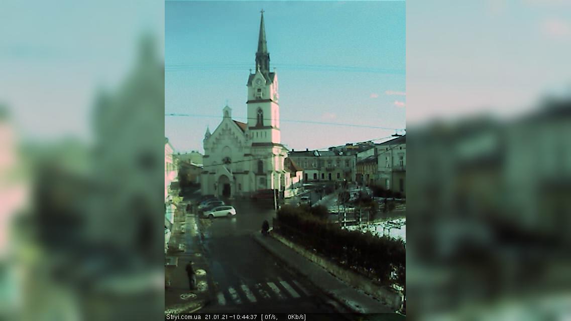 Webcam Stryi: Вокзал