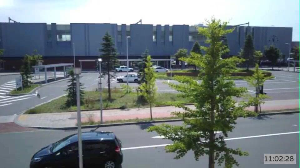 Webcam Nopporo: JR野幌駅前ライブカメラ