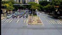 Belo Horizonte: Tr�nsito: Av. Contorno - Av. Afonso Pena (Pra�a Milton Campos) - Overdag