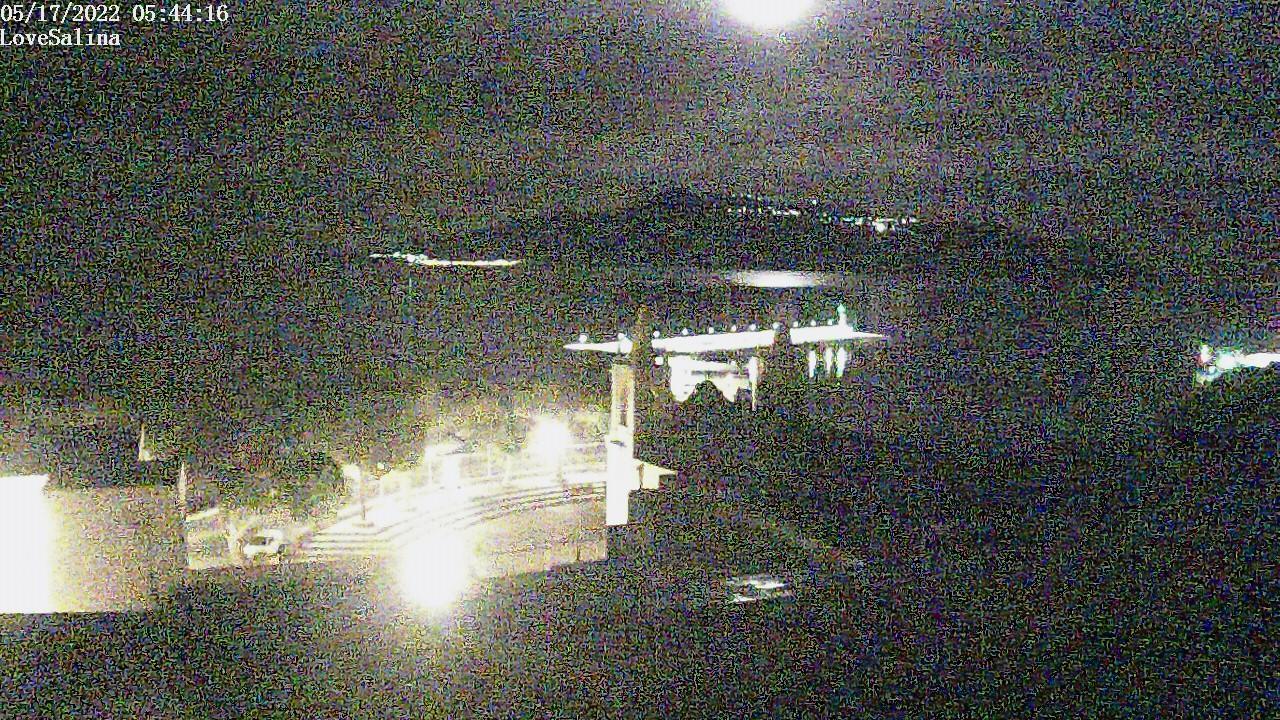 Webcam Santa Marina Salina - Love Salina