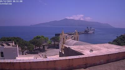 Tageslicht webcam ansicht von Santa Marina Salina › East