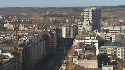 Vue webcam de jour à partir de Logroño › North East