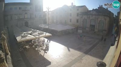 Zadar: People's Square, City Lodge