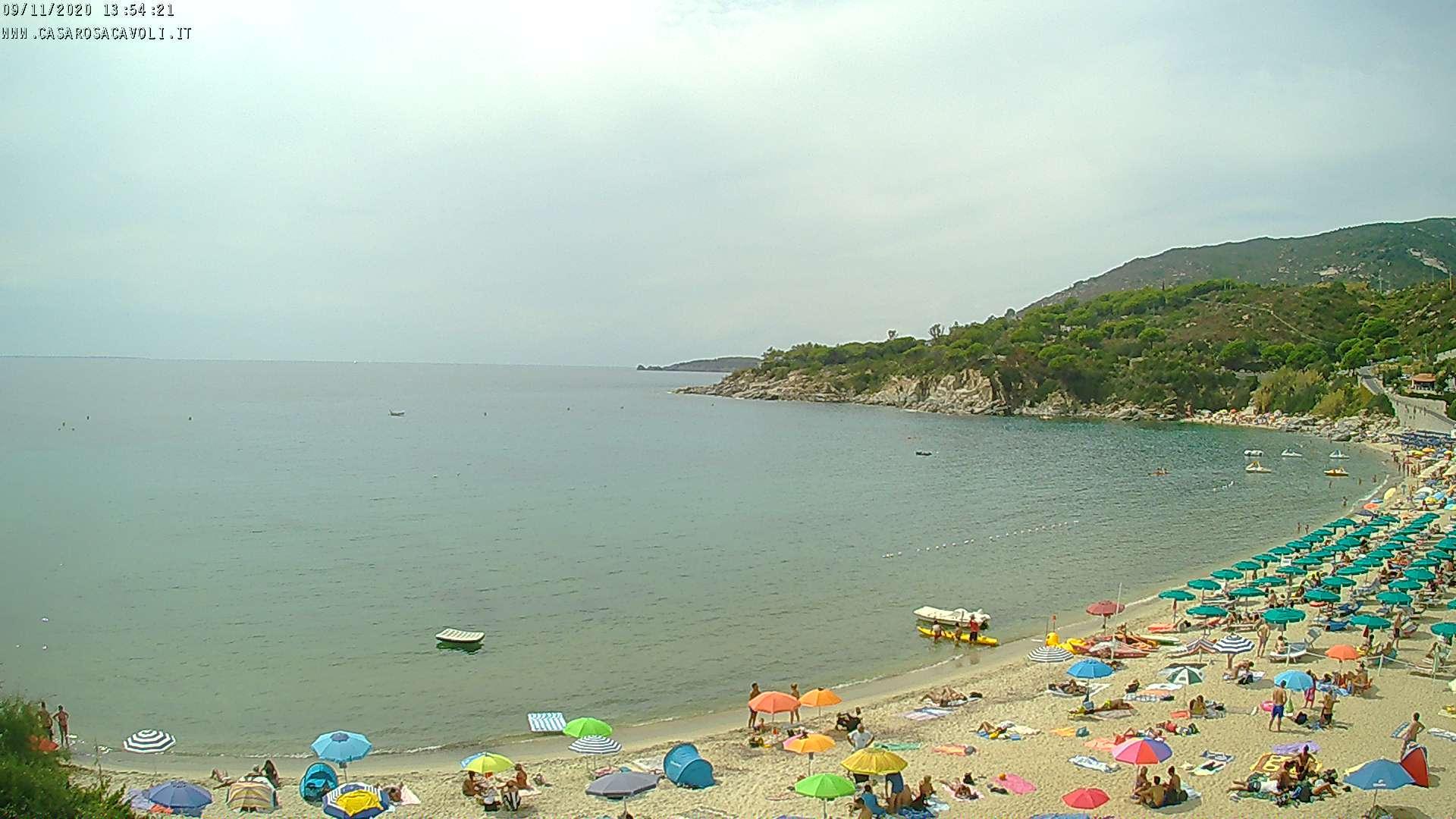 am Strand von Cavoli