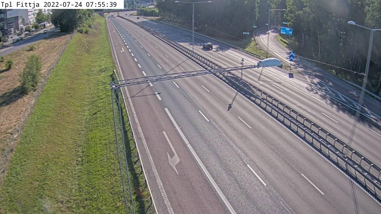 Webcam Fittja: Trafikplats