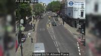 North Cheam: Upper St/St Albans Place - Day time