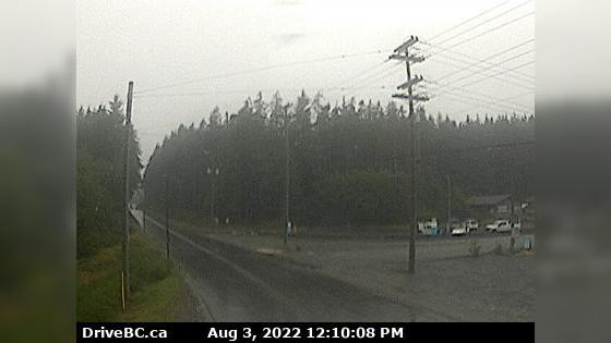 Webcam Ucluelet › North: Hwy 4 at − Tofino Hwy junction,