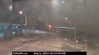 Mission > South: , Hwy  (Lougheed Hwy) at Hayward St in - looking south-west along Hayward St - Actuales