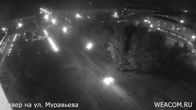 Иркутск - Иркутская область, Россия: Сквер - ул. Мира,