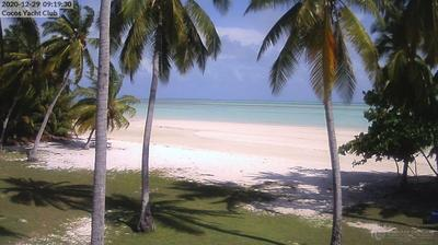 Current or last view from West Island › North: Cocos Cocos [Keeling] Islands
