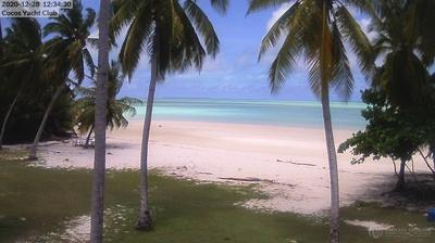 Vue webcam de jour à partir de West Island › North: Cocos Cocos [Keeling] Islands