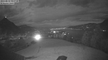 Aeschi bei Spiez: Skihütte Aeschiried - Skilift Aeschiallmend Ag - Thunersee
