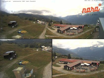 Acquarossa: Nara arrivo seggiovia Alpe di Nara