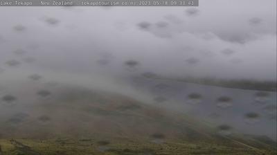 Vue actuelle ou dernière à partir de Lake Tekapo