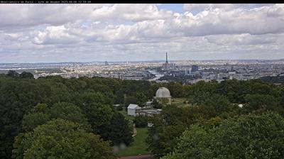 Tageslicht webcam ansicht von Meudon: Observatoire de