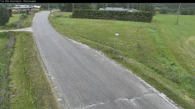 Vue webcam de jour à partir de Enontekiö: Tie 956 − Peltovuoma − Peltovuomaan